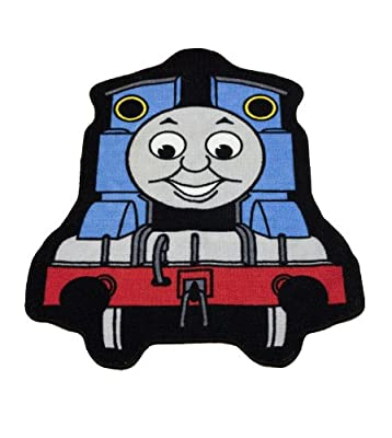 "Character World Thomas Express Shaped Rug produced by "" - quick delivery from UK."