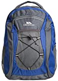 Trespass Neroli Sapphire Outodoor Office Work Padded Backpack/Rucksack with Headphone Access, Blue, 28 Litre