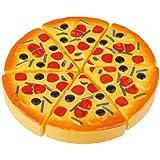 6pcs Rebanadas de la pizza para niños Juguetes de comida