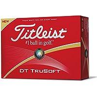 Titleist DT TruSoft - Confezione da 12 palline da golf, White