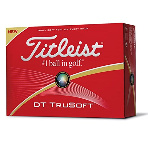 Titleist DT TruSoft 12 Pack Golf Balls (White)