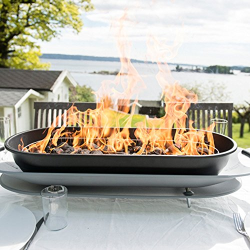 Lakeland Large Family Social Grill Tabletop Charcoal Barbecue - Up to 6 People