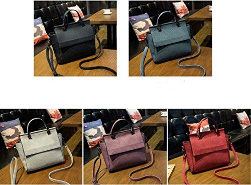 X&L Damen Jahrgang Mode Handtasche einfach Umhängetasche Umhängetaschen Blue