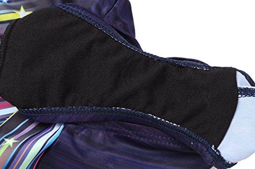 Kinder Mädchen Schwimmanzug Badenmode Badeanzug Einteiler one piece (eine oder zwei Größe großer) Meteorschauer
