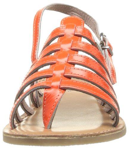 Les Tropéziennes par M. Belarbi Herflash, Sandales fille Orange (Corail)
