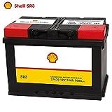 Shell Autobatterie 12V 74Ah SR3 ersetzt 70AH 72AH 74AH 75AH 77AH