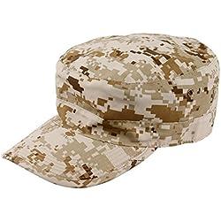 Infantería ® Ejército gorra de béisbol sol gorra militar MTP Multicam camuflaje, color Desert Digital Camo, tamaño large