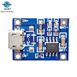 #2: eHUB TP4056 Micro USB 5V 1A 18650 Lithium Battery Charging Board with LED Indicator Automatic Protection