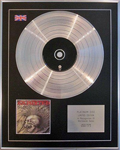 The Exploited-CD platinum disc-Morte Prima infamanti