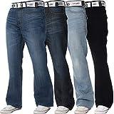 BRAND KRUZE - Jeans - Bootcut - Homme * Taille Unique - Noir - Taille 50