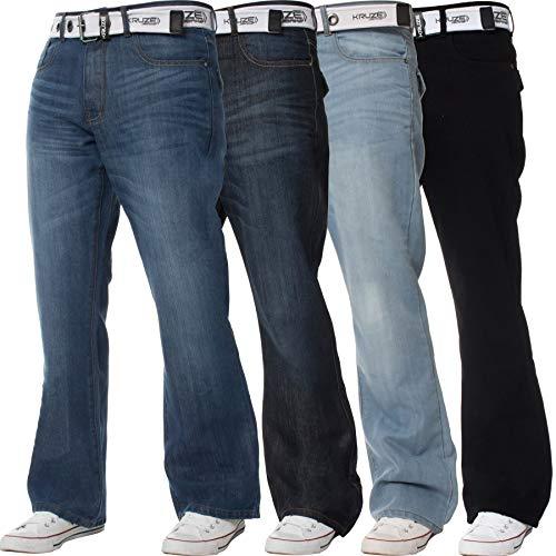 BRAND KRUZE - Jeans - Bootcut - Homme * Taille Uniqu