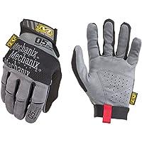 Mechanix Wear - Especialidad 0,5 mm guantes de alta destreza (Grande, Gris)