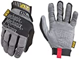 Mechanix Wear - Especialidad 0,5 mm guantes de alta destreza (Medio, Gris)