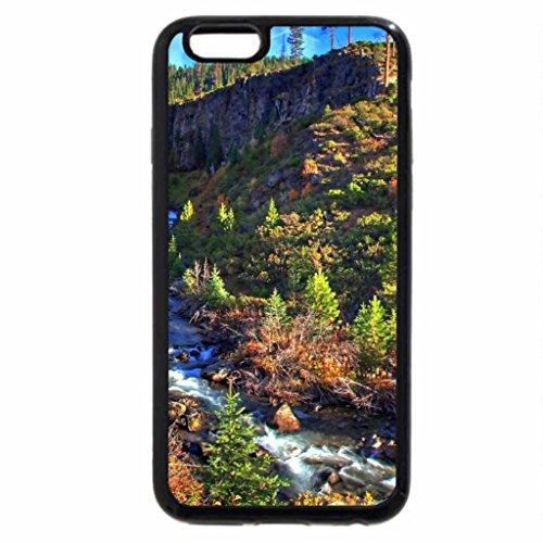 iPhone 6S / iPhone 6 Case (Black) Tumalo Falls - Oregon - USA