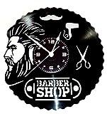 Instant Karma idée cadeau Vintage Handmade horloge murale en vinyle lP 33tours–Coiffeur Cheveux Barbe Salon Beauté Coiffure Homme Barber Shop...