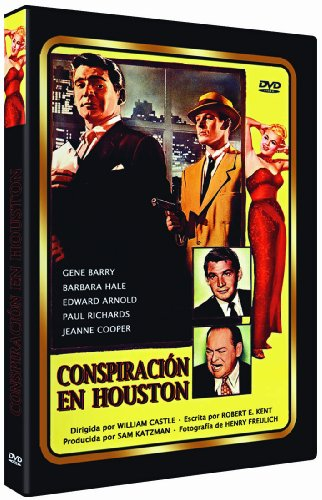 Conspiración En Houston - The Houston Story - William Castle - Audio in Englisch und Spanisch. Untertitel in Spanisch.