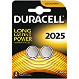 Duracell DL2025B2 Coin Cell 3v, 2er Pack