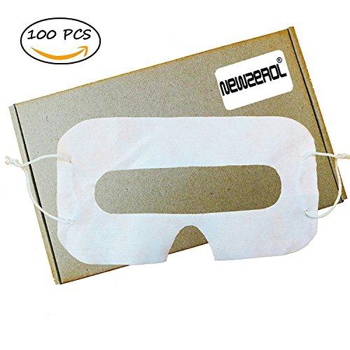 [100 Stück] Orzero® VR Einweg-Augen-Flecken-Maske für Virtual Reality Headset [100 PC-SET]