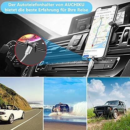 AUCHIKU-Handyhalter-frs-AutoHandyhalterung-Auto-Lftung-Universale-KFZ-Handy-Halter-Schwerkraft-Autohalterung-Smartphone-Halterung-fr-iPhoneSamsungHuawei-Usw-Schwarz