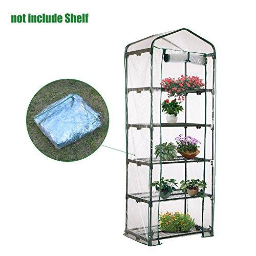 Mini Pflanzen Gewächshaus, XGZ transparent Haushalt Plant Cover Warm Garten-Zelt für Innen im Samen Kräuter Blume wächst (nur Bezug, ohne Bügeleisenablage, Blumentopf)
