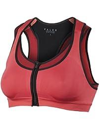 FALKE Damen Sport BH Bra-Top with Zip Closure