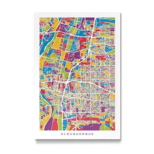 Albuquerque New Mexico Street (artboxONE Galerie-Print 150x100 cm