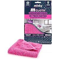 Minky M Cloth Hi-Tech Duster, Pink