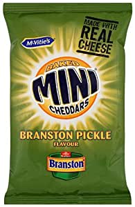 Mcvitie's Baked Mini Cheddars Branston Pickle Flavour 50 g (Pack of 30)