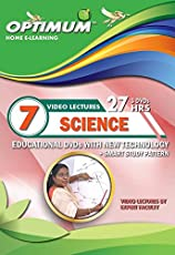Optimum Educator Educational DVD's Std 7 MH Board Science- Digital Guide Perfect Gift for School Students – Easy Video Learning