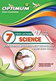 Optimum Educator Educational DVD's Std 7 MH Board Science- Digital Guide Perfect Gift for School Students - Easy Video Learning