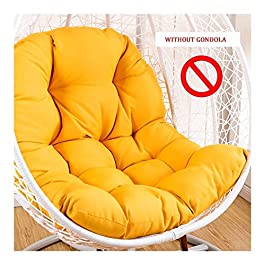 Coussin d'assise, Rectangle Coussin d'assise Chaise Suspendue Coussin, Fauteuil Suspendu Egg Hamac Coussins, Arrière…
