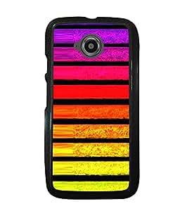 Fuson 2D Printed Designer back case cover for Motorola Moto E2 - D4303