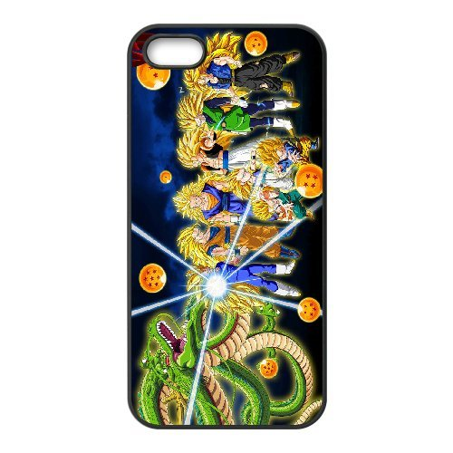 Personalised Custom iPhone 5 5s SE Phone Case Dragon Ball (Camo 5 Pin)