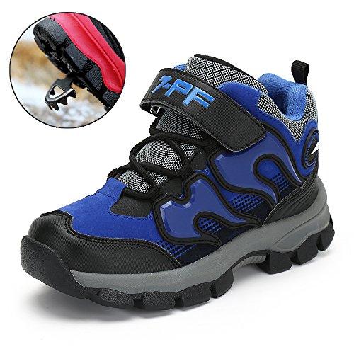 Jungen Mädchen Trekking Wanderschuhe Kinder Rutschfest Schnee Stiefel Warm Gefüttert Winter Schuhe Outdoor Wasserdicht Bergstiefel