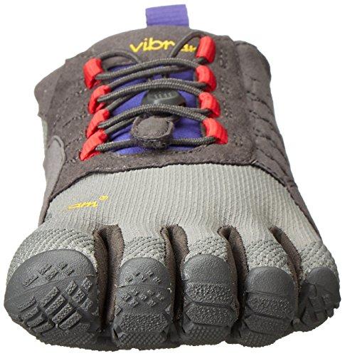 Vibram Fivefingers Damen Trek Salita Outdoor Fitnessschuhe Mehrfarbig (grigio Scuro / Lilla)