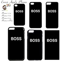 Cover Apple iPhone con Stampa Scritta Boss - Apple iPhone 6 6S
