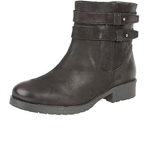 Lotus Heckle Womens Casual Ankle Boots 6 Black