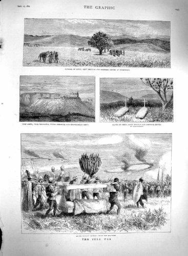 guerre-amiel-de-zoulou-de-scott-douglas-cottee-de-1879-enterrements-natal