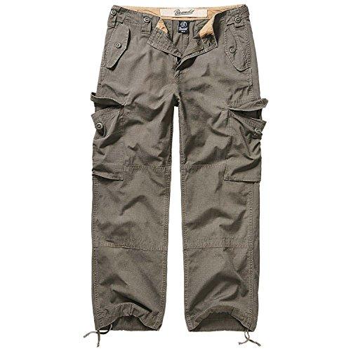 Brandit Military pantaloni Ripstop Cargo da uomo oliva XXXXX-Large