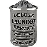 DAILYDREAM® Cesto para la ropa resistente en un gris moderno (cabida 70L)