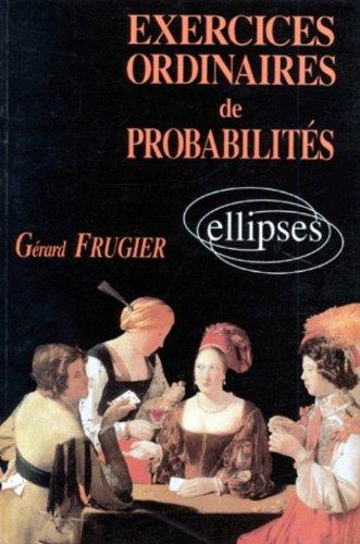 Exercices ordinaires de probabilits avec solutions et rappels de cours