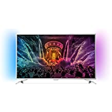 Philips  - Tv led 49''  49pus6501/12 uhd 4k, ambilight, wi-fi y smart tv android