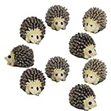 DSYJ 10pcs Miniature Landscape Garden Decor Hedgehog Ornaments