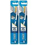 Oral-B pro-health Advanced pro-flex CrossAction setole spazzolino manuale, morbido (confezione da 2)
