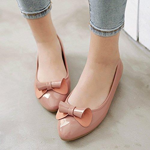 XTIAN , chaussons d'intérieur femme rose bonbon