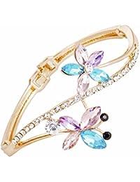 Bling N Beads Multicolour Floral Bracelet for Girls