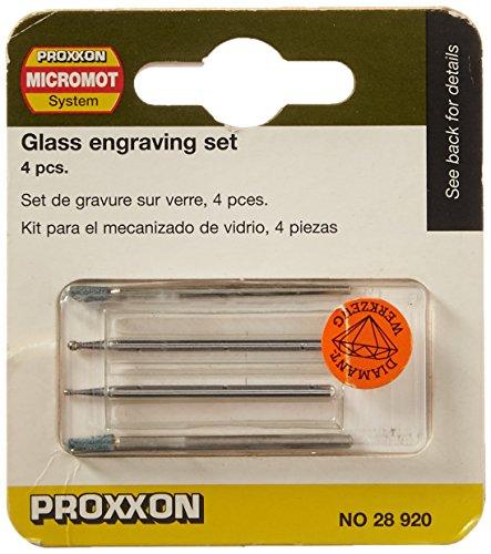 Proxxon Gleichmäßig diamantierte Schleifstifte in Kugelform (Ø 1 mm)