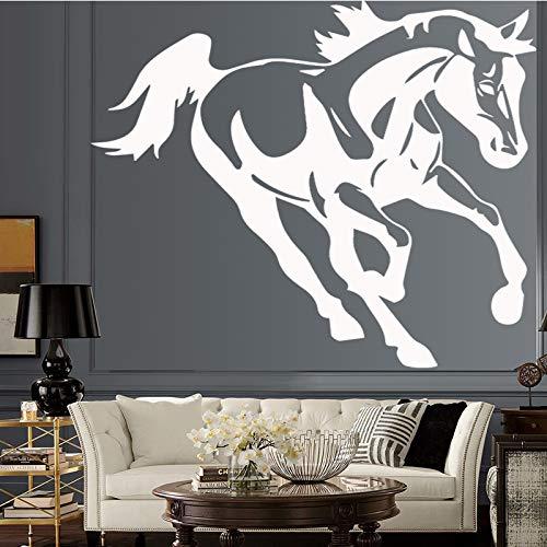 Kühle Kunst Pferd Pvc Wandaufkleber Dekor Für Kinder Schlafzimmer Wasserdichte Dekoration Wohnzimmer Aufkleber Wandbild Dekor Wandaufkleber 43 cm X 50 cm