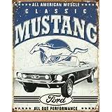 Ford Classic Mustang Metal Sign Gewölbt New 30x40cm VS3456