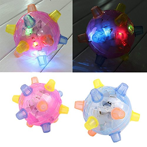PRIMI LED Spielzeug Jumping Ball Kinder Blinklicht Musical Ball